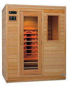sauna cabine infrarouge 3 places
